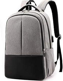 Fyuanmeiibb Backpack, Raincoat 15.6inch Laptop Backpack USB Charging Men Backpack Travel Adolescent Backpack Bag (Color : ...