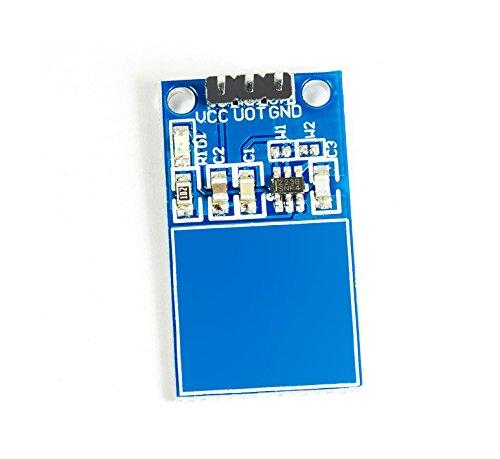 MissBirdler Kapazitiv Sensor 17x29mm capacitive Touch Modul Touchsensormodul TTP223B TTP223 für Arduino Raspberry pi Prototyping