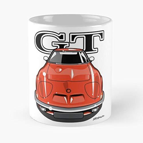 Generic Auto Blitz Motors Oldtimer Car Gt Ruesselsheim Opel Best 11 oz Kaffeebecher - Nespresso Tassen Kaffee Motive