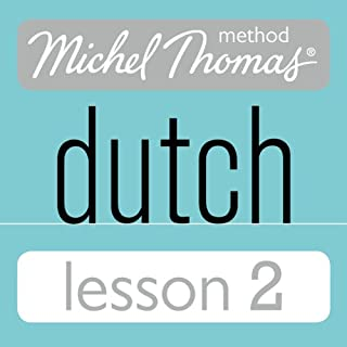 Michel Thomas Beginner Dutch, Lesson 2 audiobook cover art