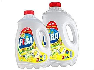 سائل غسيل الاطباق من فيبا، 3 كجم مع 2 كجم