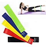 GymWar Resistance Loop Band Set for Squats, Hips & Glutes Heavy Workouts