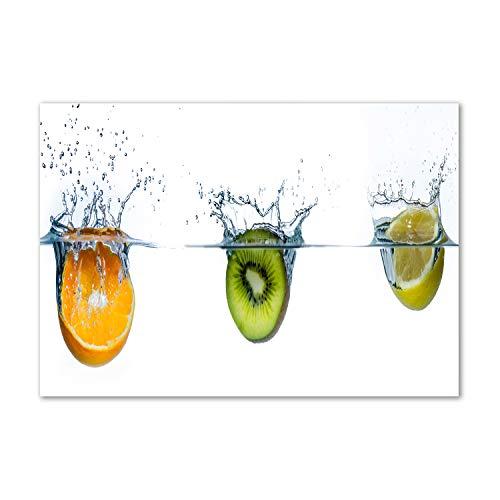 Tulup Impresión en vidrio - 100x70cm - Cuadro Pintura en Vidrio -...