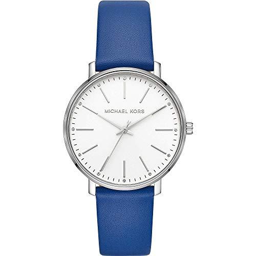 Michael Kors Reloj Analógico para Mujer de Cuarzo con Correa en Cuero MK2845