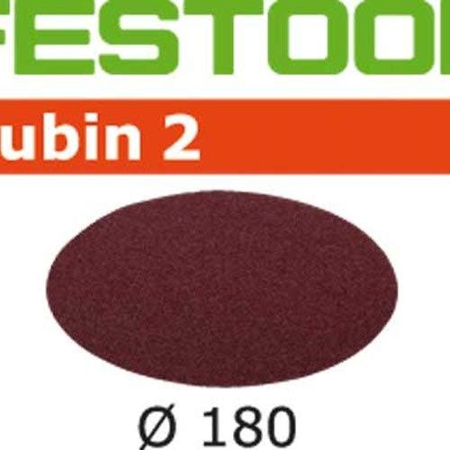 Festool 499126 - Disco de lijar STF D180/0 P60 RU2/50