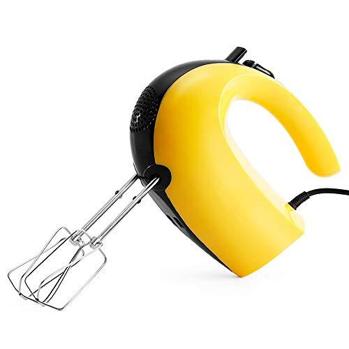 Heigmz ddq Batidor de huevos Batidor de mano, varilla de agitación, batidor eléctrico de mantequilla, ventilador de hornear para el hogar, batidor de huevo pequeño