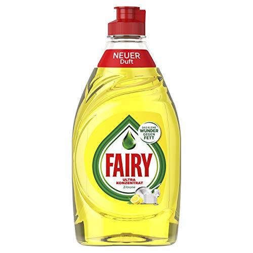 Fairy Zitrone Ultra Konzentrat Hand-Geschirrspülmittel, 10er Pack (10 x 450 g)
