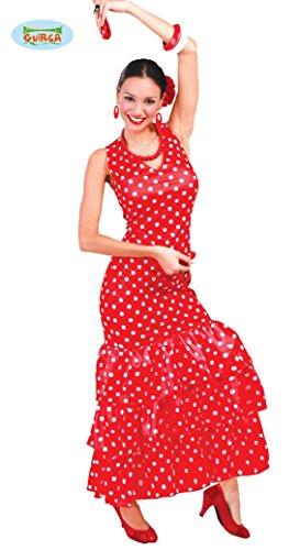 Guirca Costume vestito ballerina flamenco spagnola carnevale donna 84728 L