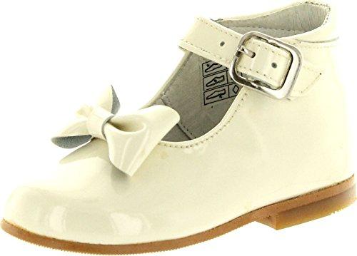 Nens Girls Cl-10020 Beautiful Dress Shoes,Beige,21