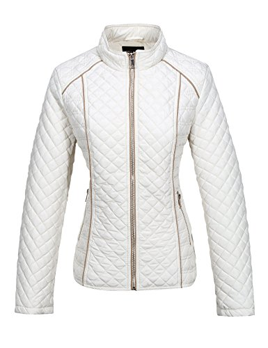 Bellivera Women's Stand Collar Lightweight Gilet Quilted Puffer Jacket Only $25.19 (Retail $41.99)