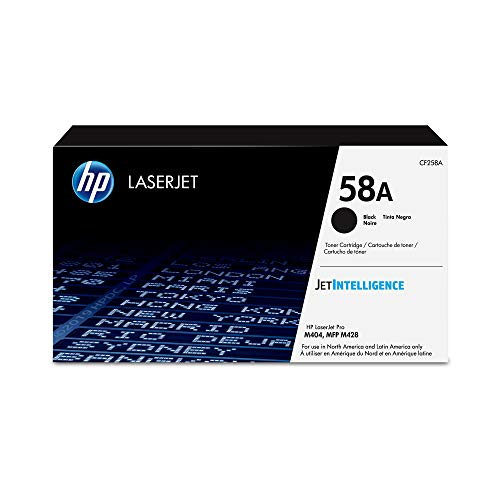 HP 58A | CF258A | Toner Cartridge | Black