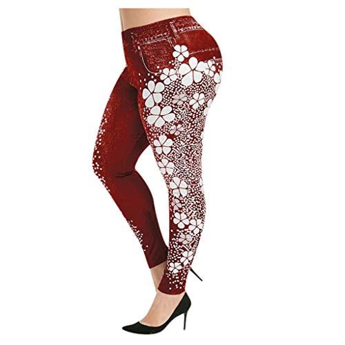 Workout Leggings for Women,Women's High Waist Yoga Pants, Tummy Control Workout Running 4 Way Stretch Yoga Leggings
