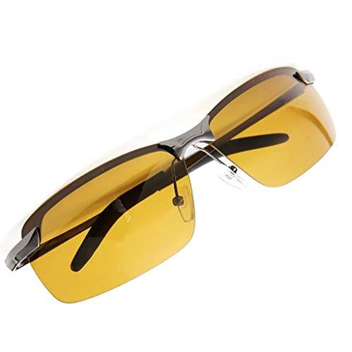 YOURPAI Lentes presbyopic, gafas de sol polarizadas para conducción para hombre, gafas de visión nocturna, reducen el deslumbramiento