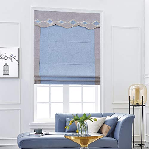 AMON LL Sonnenschutzrollo Raffrollos Raffrollos Vorhang Vorhang Vorhang Paneele für Schlafzimmer Dekor Deko Vorhang Paneele, Textil, W120cm