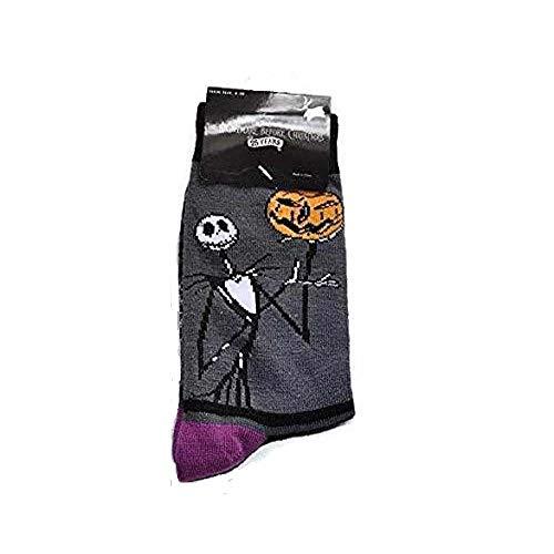 Disney Tim Burtons The Nightmare Before Christmas 25 years Socks JACK with pumpkin Ladies Shoe size: 4-10