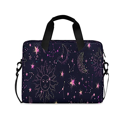 Space Girls 14 'Laptop Bag Galaxy Constellation Kids 10 Tablet Case Bolsos para la escuela secundaria mujeres 15.6 Ordenadores bolsa maletín