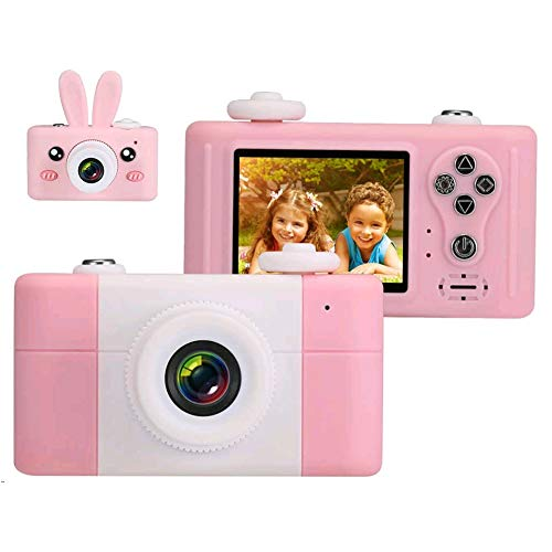 Openuye Cámara para Niños,Cámaras de Video Digital Regalo para Niños, Juguetes HD 1080P para Niños de 3 a 14 años con Pegatinas de Dibujos Animados en 3D (Tarjeta de Memoria de 16GB incluida)
