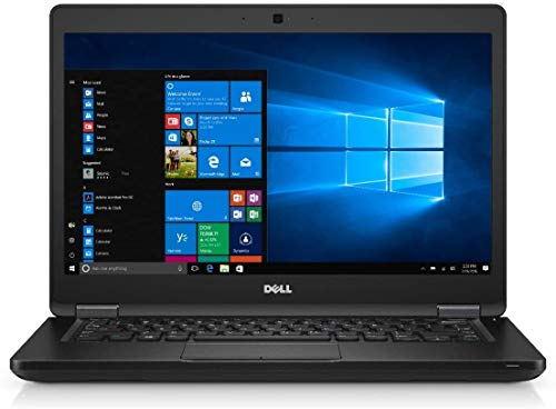 Windows 10 Dell Latitude 5480 Core i5-6300U Laptop PC - 8GB DDR4 - 256GB M.2 SSD - HDMI -(Renewed)