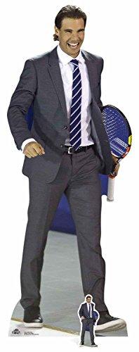 Star Einbauöffnungen cs672Life Größe Cut Out von Rafael Nadal mit gratis Mini Tisch Top, 183cm