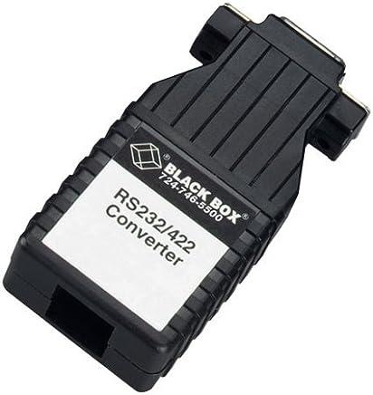 Black Box Async RS-232 to RS-422 Interface Bidirectional Converter, DB9 Female to RJ-45 [並行輸入品]