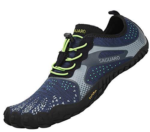 SAGUARO Barefoot Zapatos de Trail Running Hombre Mujer Minimalistas Escarpines Zapatillas...