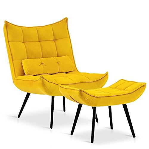 best velvet chair