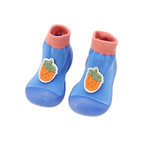 Weichen Sohle Kleinkind Schuhe Mädchen Junge Lauflernschuhe Rutschfest Krabbelschuhe Indoor Bodensocken Atmungsaktive Socken Schuhe Cartoon Frucht Babyschuhe