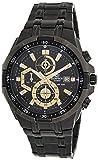 Best Casio Edifice Watches - Casio Edifice Stopwatch Men's Chronograph EFR-539BK-1AVUDF (EX187) Review