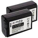 1 o 2X Premium batería NP-FW50 para Sony Alpha 7, 33, 35, 37, 55 / DSLR-A5000, A6500. ILCE-6000. DSC-RX10 II, III, IV (Ver Lista).