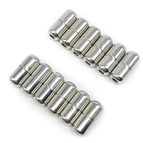 Metall Schuhe Talrepen Silber Elastic Buckle Sperre Faule Schuhe Buckle Shoelaces Access