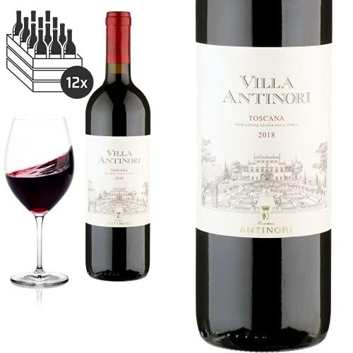12er Karton 2018 Toscana von Villa Antinori - Rotwein