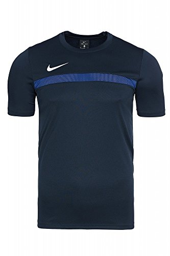Nike Herren Trainingsshirt Academy 16,Mehrfarbig (Obsidian/Deep Royal Blue/White), 2XL, 725932-451