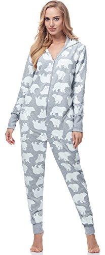 Italian Fashion IF Pijama Entero Mono Mujer IF180017