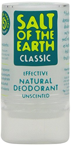 Salt Of The Earth Naturel Classique Déodorant 90g (Cas de 6)