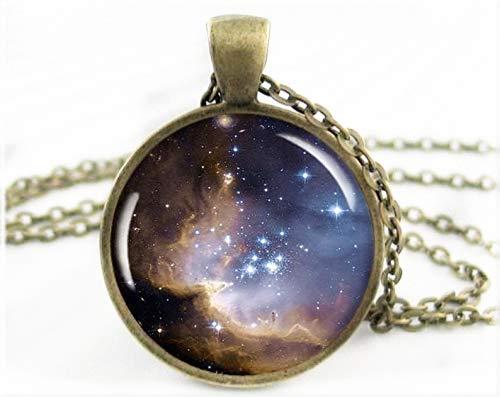 heng yuan tian cheng nevel ruimte hanger, hars bedel, Hubble telescoop foto ketting, ronde brons