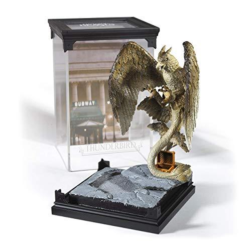 Fantastic Beasts Thunderbird Estatua Magical Creature No. 6 de plástico en Pantalla extraíble.