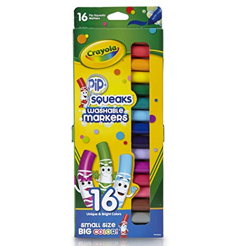 Crayola 16ct Pipsqueaks Washable Markers
