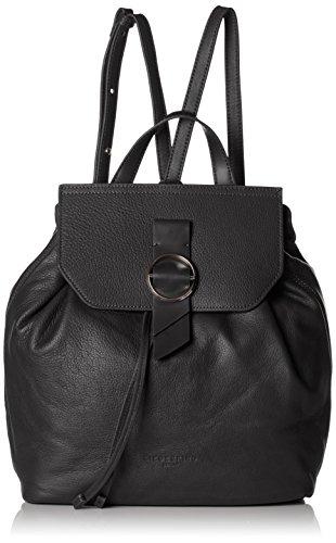 Liebeskind Berlin Damen BackpackM-Worldt Rucksackhandtasche, Black, 13x27x35 cm