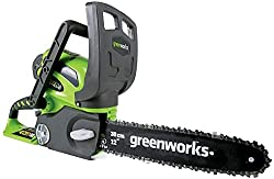 greenworks 12-inch electric chainsaw