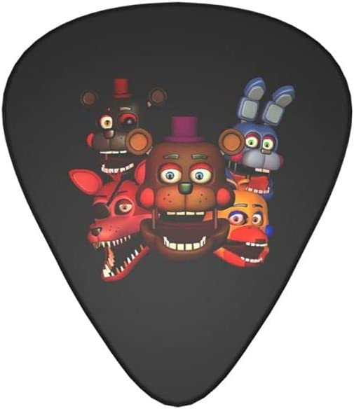 Five Nights At Max 90% OFF Freddy'S Guitar Picks Gift Complete Set Guita For NEW