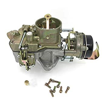 Autolite 1100 Carburetor Fits 1964-1968 Mustang Falcon 170 & 200 cid Engines manual or automatic gearboxes Configure larger diameter Main Jet provide greater throttle
