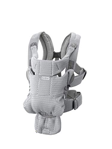 BABYBJORN Baby Carrier Free, 3D Mesh, Gray