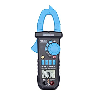 Digital Multimeter, OCDAY Auto-Ranging Digital Measuring Instrument AC Voltage Detector Amp Ohm Volt Meter Multi Tester w/ Diode and Continuity Test Scanners DIY Hand Tools with Backlight LCD