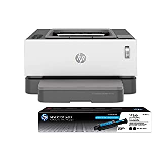 HP Neverstop 1001nw Wireless Mono Laser Printer with Cartridge-Free Toner Tank, comes with up to 5,000 pages of toner in the box (5HG80A) bundled with-Toner Reload-Kit 2-Pack (B086RQ1DPP) | Amazon price tracker / tracking, Amazon price history charts, Amazon price watches, Amazon price drop alerts