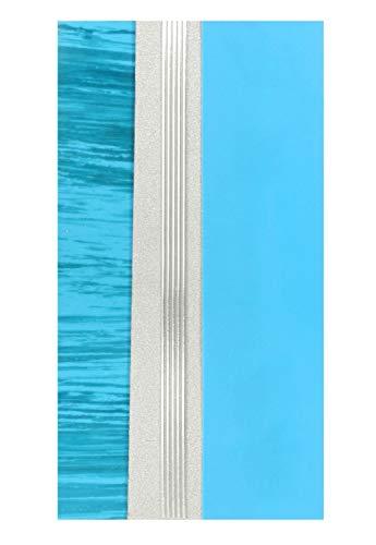 Pracht Creatives Hobby 7074-20895 Verzierwachsplatten Mix türkis / silber, 3 halbe Wachsplatten, ca. 200 x 50 x 0,5 mm und ein Wachsstreifen, zum Modellieren und Verzieren von Kerzen