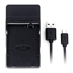 LP-E8 USB Cargador para Canon EOS 550D, EOS 600D, EOS 650D, EOS 700D, EOS Kiss X4, EOS Kiss X5, EOS Kiss X6i, EOS Rebel T2i, EOS Rebel T3i, EOS Rebel T4i, Rebel T5i batería de la cámara