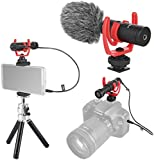 Fomito Micmov V1 Universal Super-Cardioid Condenser Video Microphone Shotgun Recording Mic Kit