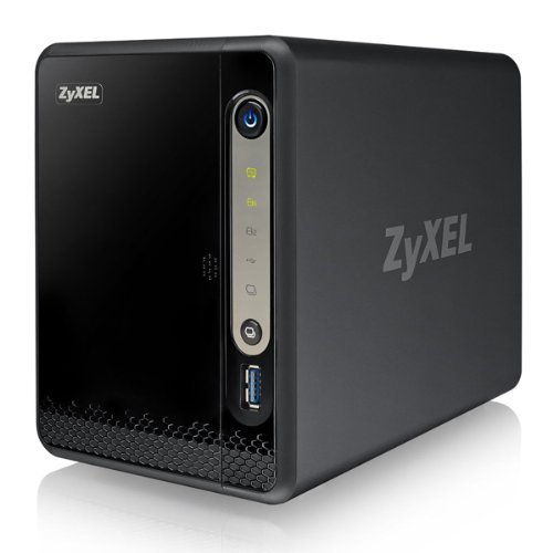 ZyXEL NSA325v2 NAS-Server (2-Bay, SATA II, 1x Ethernet, USB 3.0)