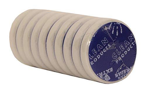 CLEANPRODUCTS-disque à polir-super-agent abrasif-retikuliert blanc 80/20 mm-set de 10 pièces, pour utilisation avec universalpolitur schleifpaste politur. et de la haute-disque à polir-supporte les profondeurs d'entretien pour enlever les traces d'utilisation, les rayures, vermattungen, discontinuité, lackdefekte schleifriefen tous et à polir auto-glanzlacken et brillants your design avec polisseuse (pad pour disque de polissage-disque polisseur-profi produit pour les professionnels de l'industrie manufacturière (voiture/véhicule, lackpflege lackaufbereitung, fahrzeugaufbereitung autoaufbereitung)