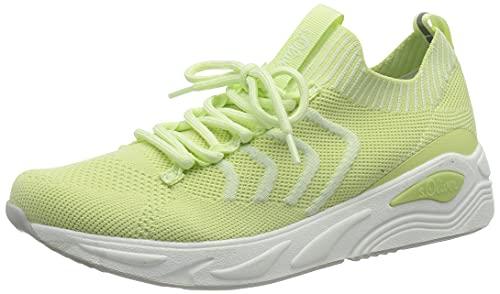 s.Oliver Damen 5-5-23617-26 Sneaker, Lime, 38 EU